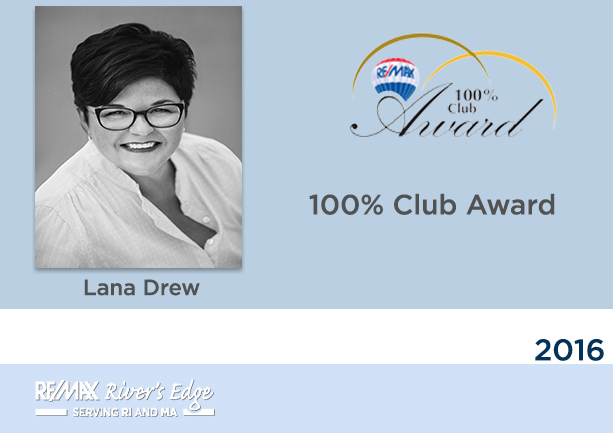 100% Club Award - RE/MAX River's Edge
